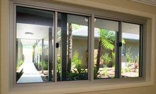 sliding aluminum window