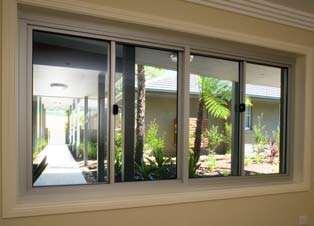 sliding aluminum window