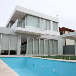 2-storey house with pool