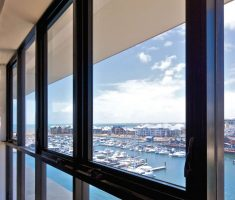 awning windows with harbor view