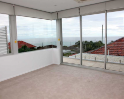 room with view of the nearby ocean